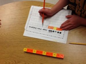 Patterning in math 003