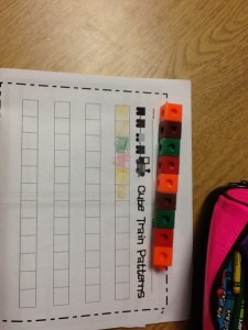 Patterning in math 005
